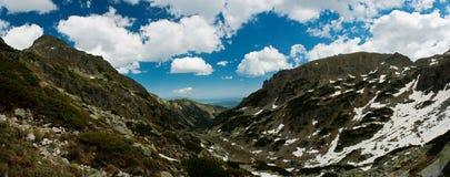 Mountinious landscape stock photos