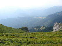 Mountins di Ciucas Immagini Stock