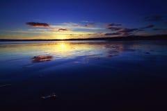 Mounts Bay Reflection. royalty free stock photos