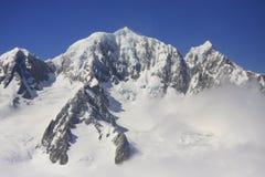 Mounts Cook and Tasman, New Zealand Royalty Free Stock Image