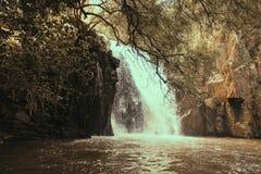 Mourão vattenfall fotografering för bildbyråer