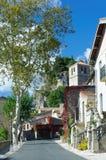 Mourèze-Dorf Lizenzfreies Stockbild