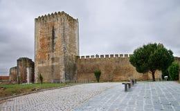 Moura城堡 免版税库存照片