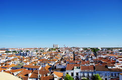 Moura, city in Portugal Stock Image