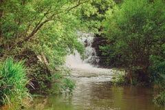 Mourao vattenfall royaltyfria foton