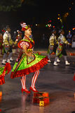 Mouraria kolory, Neighbourhoods Popularna parada, Lisbon gody Obraz Stock
