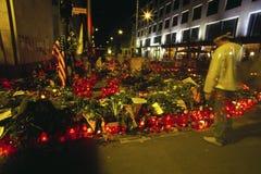 Mouring después del 11 de septiembre Foto de archivo libre de regalías