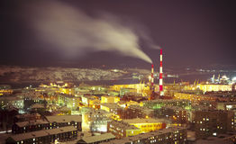 Mourmansk Image libre de droits