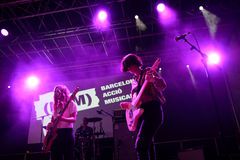 Mourn band in concert at BAM Festival Stock Photography