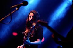 Mourn band performs at Apolo venue Royalty Free Stock Photo