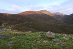 Mourne Berge, Nordirland Lizenzfreie Stockfotos