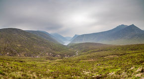 Mourne Mountains. A landscape from the Mourne Mountains in County Down, Northern Ireland Stock Image