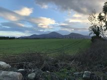 The mourne mountains. Newcastle, Co.Down, N.Ireland royalty free stock photos