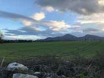 The mourne mountains. Newcastle, Co.Down, N.Ireland royalty free stock images