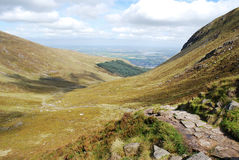 Mourne Mountains, Northern Ireland. These mountains are situated in County Down, Northern Ireland Stock Image
