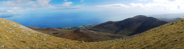 Mourne Mountains, Northern Ireland. These mountains are situated in County Down, Northern Ireland Stock Photography