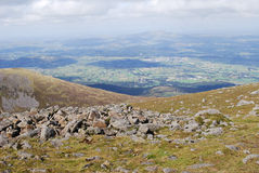 Mourne Mountains, Northern Ireland. These mountains are situated in County Down, Northern Ireland Stock Photo