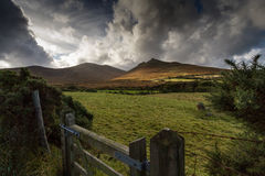 Mourne Mountains, Northern Ireland. Mourne Mountains, County Down, Northern Ireland Royalty Free Stock Photo