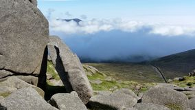 The mourne wsll in ireland Royalty Free Stock Photography