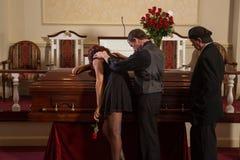 mourning royalty-vrije stock foto