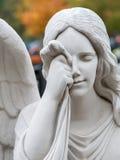 Mourning angel Stock Image