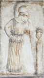 Mourning Athena (copy from museum) Stock Image