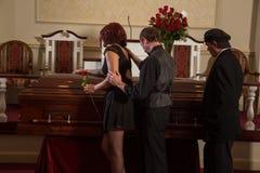 Mourning Stock Photo