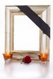 Mourning frame Stock Photos