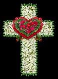 Mourning Jesus cross Stock Photo