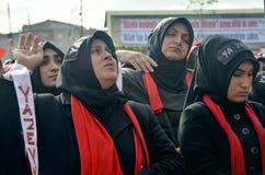 Mourning of Muharram in Turkey Stock Photos