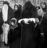 Mourning of Muharram in Turkey Royalty Free Stock Photo