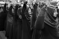 Mourning of Muharram in Turkey Stock Images