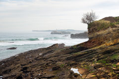 Mouro Island. Santander Royalty Free Stock Photography