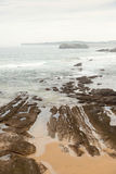 Mouro Island. Santander Stock Photo