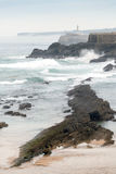 Mouro Island. Santander Royalty Free Stock Images