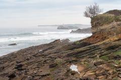Mouro Island. Santander Royalty Free Stock Photography