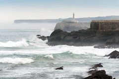 Mouro Island. Santander Stock Photos