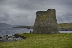 Mousa Broch royalty free stock image