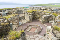 Mousa ruins, Shetland Royalty Free Stock Photography