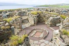 mousa rujnuje Shetland fotografia royalty free