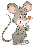 Mouse. Isolated clip-art and children's illustration for yours design, postcard, album, cover, scrapbook, etc Stock Image