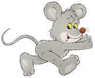 Mouse. Isolated clip-art and children's illustration for yours design, postcard, album, cover, scrapbook, etc Royalty Free Stock Photo
