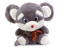 Mouse. Beautiful greyish little mouse, good gift to birthday of the child Royalty Free Stock Images