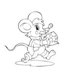 Mouse. Illustration of the little amusing mouse Royalty Free Stock Photography