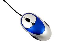 Mouse from Above Stock Images