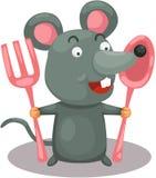 Mouse affamato Fotografia Stock Libera da Diritti