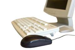 Mouse & tastiera Fotografie Stock