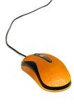 Mouse arancione fotografie stock libere da diritti