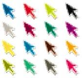 Mouse arrow icon Royalty Free Stock Photo