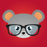 Mouse avatar Royalty Free Stock Image